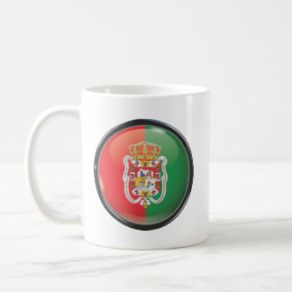 Bandera y escudo de Granada Taza De Café