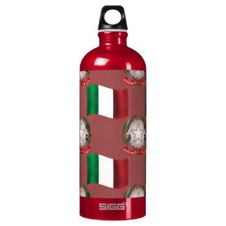 Bandera y escudo de Italia