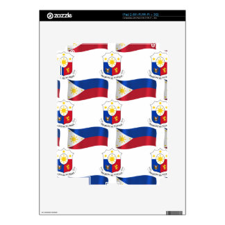 Bandera y escudo de las Filipinas iPad 2 Skins