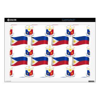 Bandera y escudo de las Filipinas Portátil 43,2cm Skins