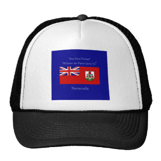 Bandera y lema de Bermudas Gorra