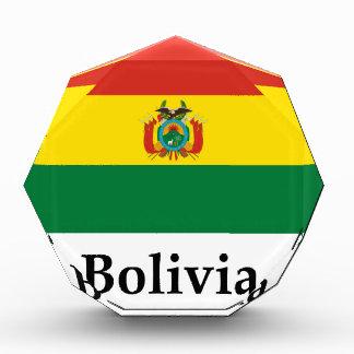 Bandera y nombre de Bolivia