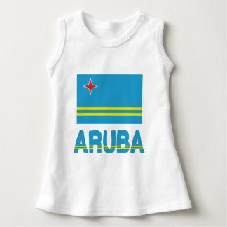 Bandera y palabra de Aruba Camisas
