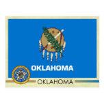 Bandera y sello del estado de Oklahoma Tarjetas Postales