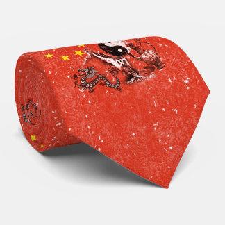 Bandera y símbolos de China ID158 Corbatas Personalizadas