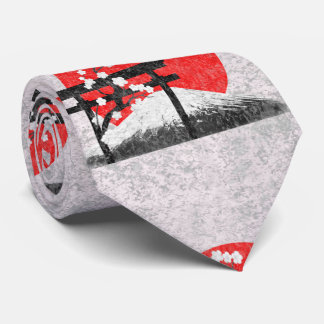 Bandera y símbolos de Japón ID153 Corbata