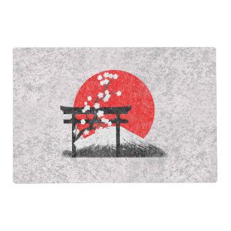 Bandera y símbolos de Japón ID153 Salvamanteles