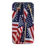 Banderas americanas iPhone 4/4S carcasas