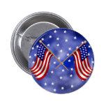 Banderas americanas pins