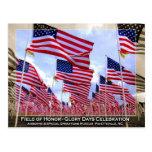 Banderas americanas postales