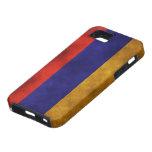 Banderas - Armenia iPhone 5 Case-Mate Cárcasa