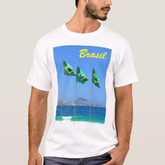 Banderas brasileñas playera