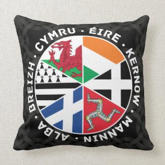 Banderas célticas de las naciones cojín