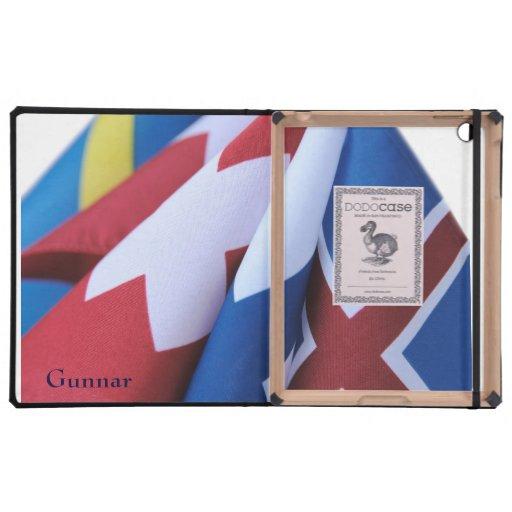 Banderas con el caso del Dodo del iPad 2/3 de las  iPad Funda