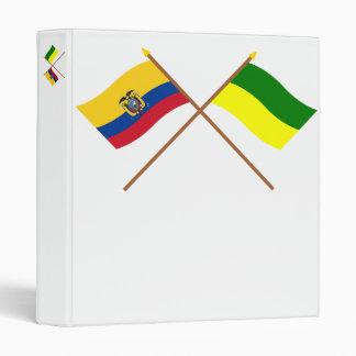 """Banderas cruzadas de Ecuador y de Morona-Santiago Carpeta 1"""""""