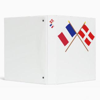 """Banderas cruzadas de Francia y de Saboya Carpeta 1"""""""