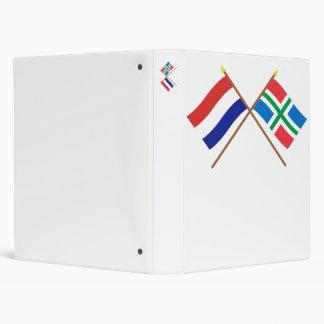 "Banderas cruzadas de Holanda y de Groninga Carpeta 1"""