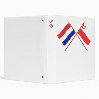"""Banderas cruzadas de Holanda y de Utrecht Carpeta 1"""""""