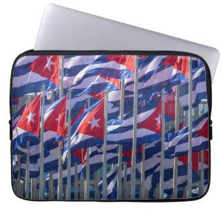 Banderas cubanas, La Habana, Cuba Mangas Portátiles
