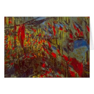 Banderas cubiertas de Montorgueil hacia fuera w de