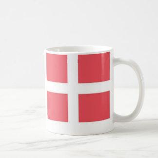 Banderas danesas tazas