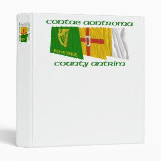 """Banderas de Antrim del condado Carpeta 1"""""""