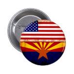 Banderas de Arizona los E.E.U.U. Pins