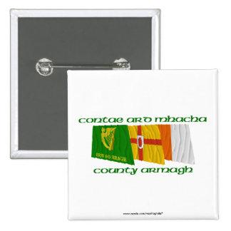 Banderas de Armagh del condado Pins