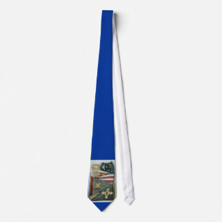 Banderas de batalla famosas de la unión - placa 1 corbata