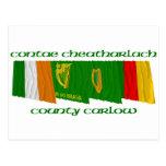 Banderas de Carlow del condado Postal
