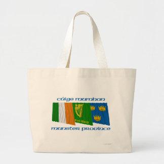 Banderas de Cúige Mumhan (provincia de Munster) Bolsa