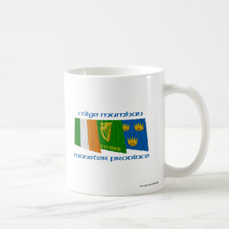 Banderas de Cúige Mumhan provincia de Munster Tazas De Café