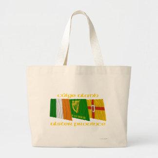 Banderas de Cúige Uladh (provincia de Ulster) Bolsas