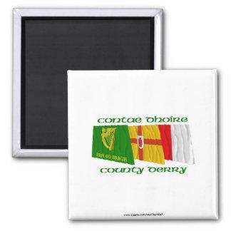 Banderas de Derry del condado Iman De Frigorífico