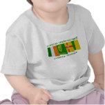 Banderas de Donegal del condado Camiseta