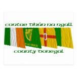 Banderas de Donegal del condado Postal