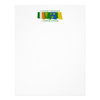 Banderas de Kerry del condado Membrete Personalizado