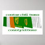 Banderas de Kildare del condado Impresiones