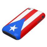 Banderas de la casamata del iPhone 3G/3GS de Puert iPhone 3 Tough Carcasa