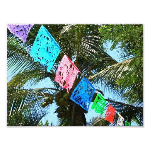 Banderas de la fiesta cojinete