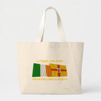 Banderas de la provincia de Irlanda y de Ulster Bolsa De Mano