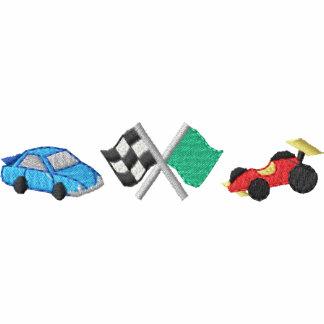 Banderas de la raza de coches de raza polo