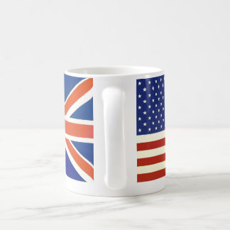Banderas de los E.E.U.U. Británicos Taza De Café
