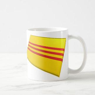 Banderas de los E E U U y de Vietnam Vietnam del Tazas De Café