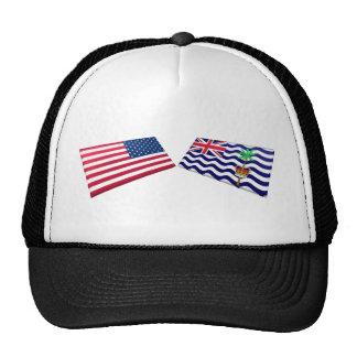 Banderas de los E.E.U.U. y del territorio del Océa Gorras De Camionero