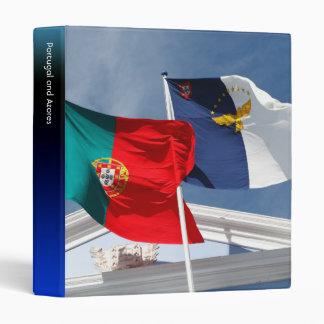 Banderas de Portugal y de Azores