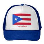 Banderas de Puerto Rico Gorro De Camionero