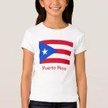 Banderas de Puerto Rico Playera