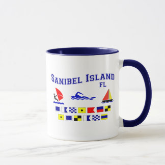 Banderas de señal de FL de la isla de Sanibel