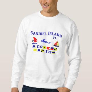Banderas de señal de FL de la isla de Sanibel Sudadera